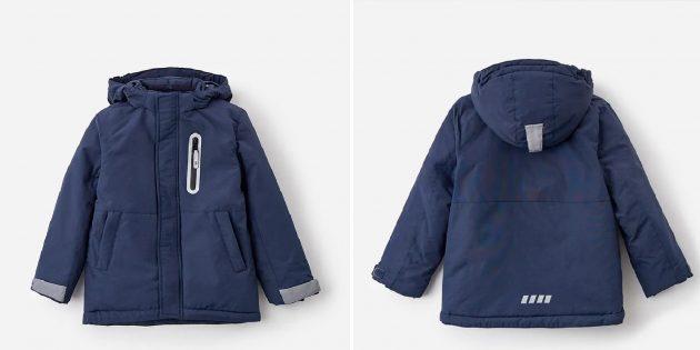 Детская куртка со светоотражающими элементами