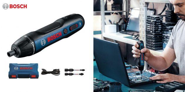 Аккумуляторная отвёртка Bosch Go 2