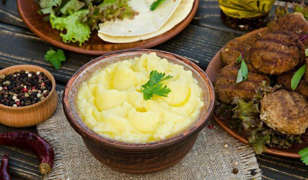 Картофельное пюре в итальянском стиле