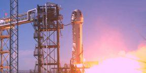 Джефф Безос отправил в космос второй туристический экипаж  — с актёром из «Звёздного пути»