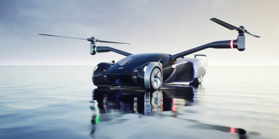 Компания Xpeng анонсировала электромобиль, который может ездить и летать