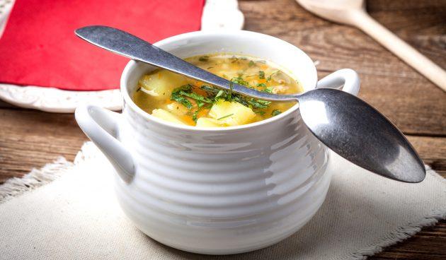 Гречневый суп с фаршем