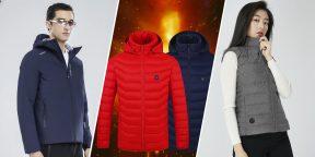 7 курток и жилетов с подогревом для морозной погоды