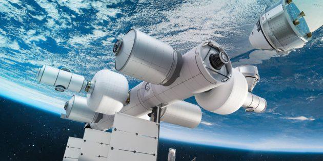Blue Origin Джеффа Безоса построит частную космическую станцию Orbital Reef