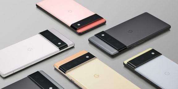 Google выпустила смартфоны Pixel6 и Pixel6Pro — первые с Android 12