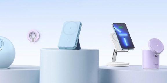 Anker представила шесть MagSafe-аксессуаров для iPhone