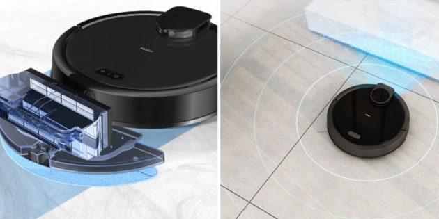Распродажа AliExpress: робот-пылесос HAIER TAB JC55
