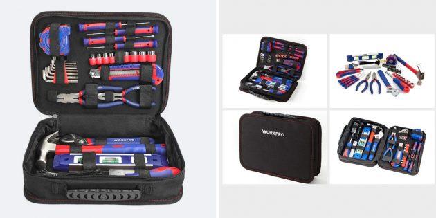 Распродажа AliExpress: набор инструментов WORKPRO