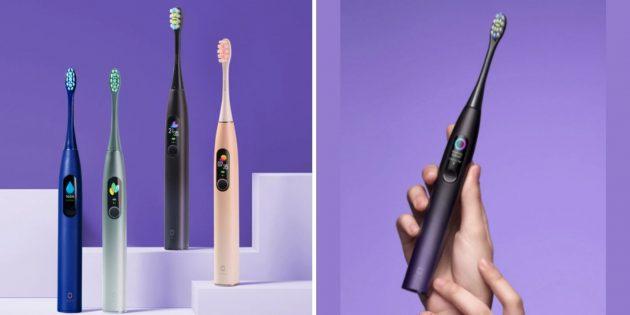 Распродажа AliExpress: зубная щётка Oclean X Pro
