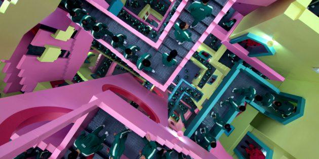 Кадр из сериала «Игра в кальмара»