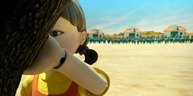 Кадр из сериала«Игра в кальмара»