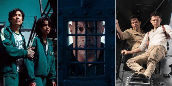 Главное о кино за неделю: успех «Игры в кальмара», трейлер «Анчартед» и не только