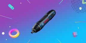 Надо брать: аккумуляторная отвёртка Bosch всего за 2 790 рублей