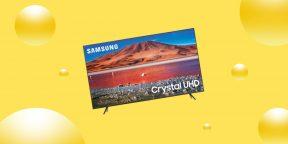 Выгодно: 4K-телевизор Samsung со скидкой 26%