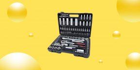 Выгодно: универсальный набор инструментов всего за 2 853 рубля