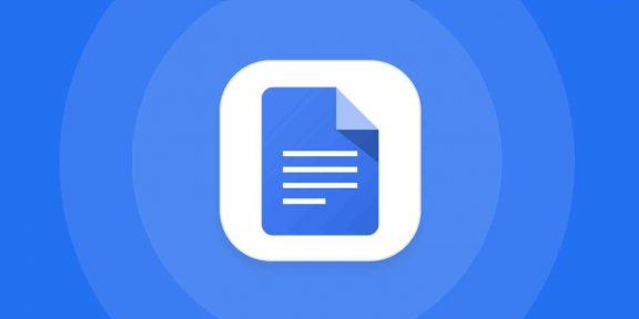 В Google Docs появилась быстрая вставка изображений, имён, ссылок, дат и не только
