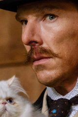 В «Кошачьих мирах Луиса Уэйна» Бенедикт Камбербэтч рисует усатых. И вам нужно это увидеть