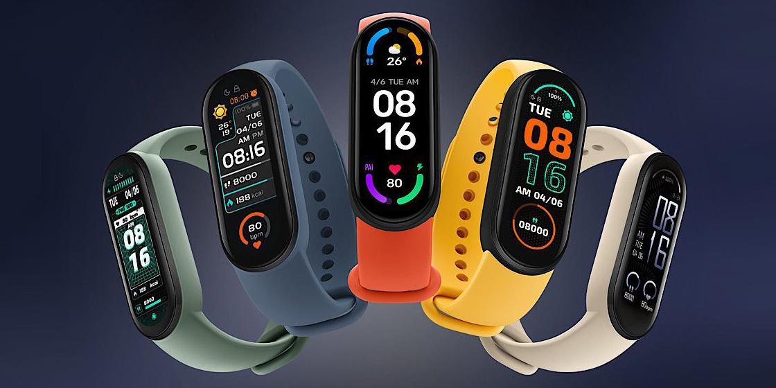 Xiaomi объявила российскую цену Mi Smart Band 6 NFC