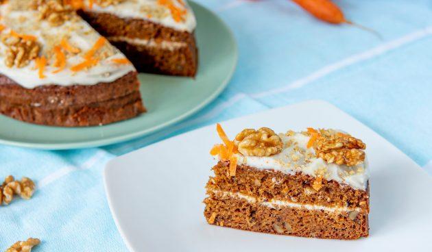Морковный ПП-торт. Этот десерт можно даже на ночь!