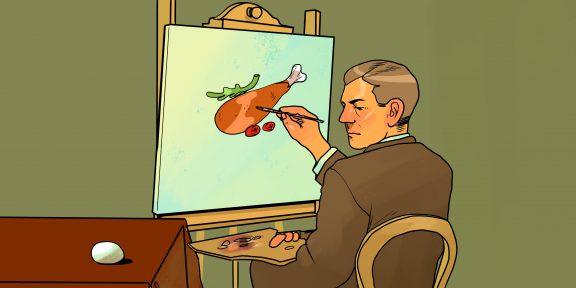 Еда как искусство. 8 полезных блюд и продуктов, которым самое место в картинной галерее