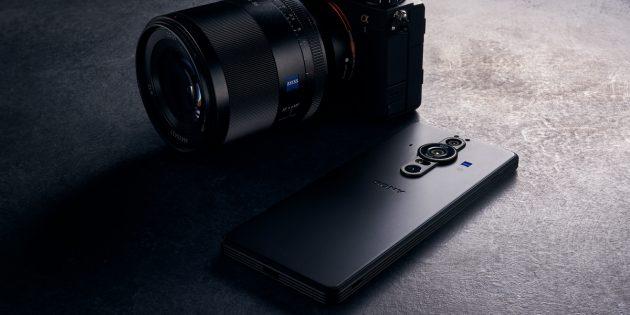 Sony представила флагман Xperia PRO-I c 1-дюймовый фотосенсором