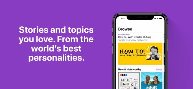 Где слушать подкасты: 5 приложений для iOS