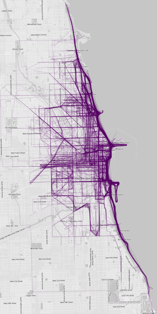 Where people run — Chicago