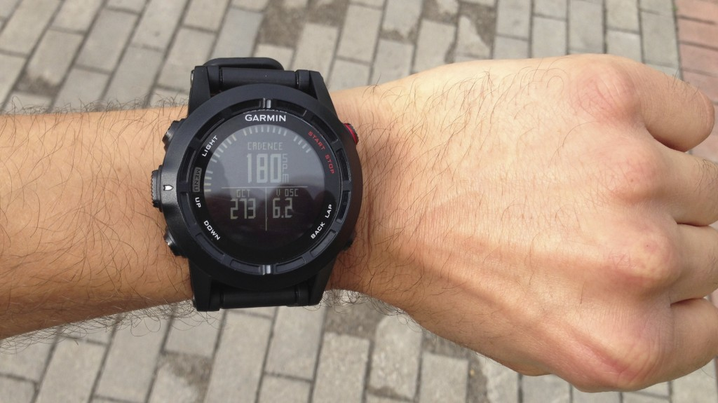 Garmin Fenix 2 running dynamics