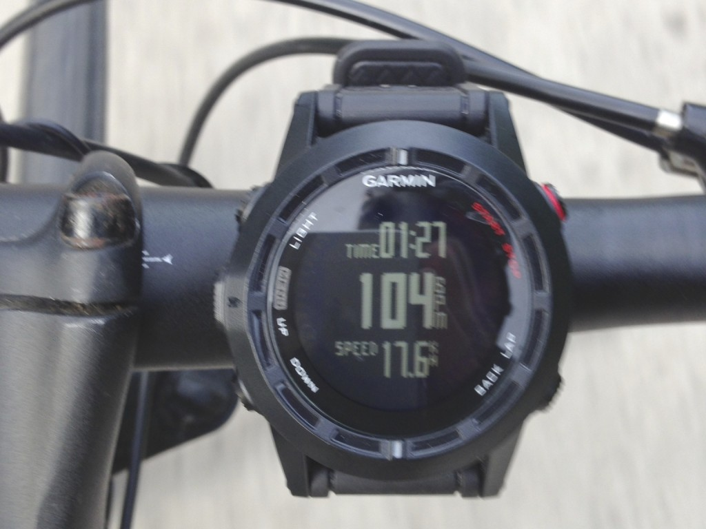Garmin Fenix 2 bike