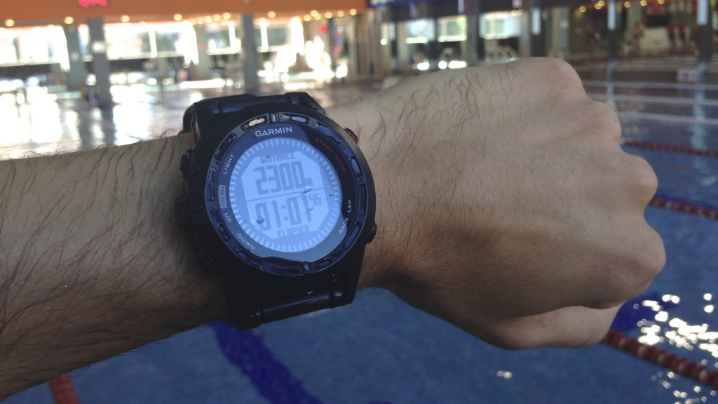 Garmin Fenix 2 pool