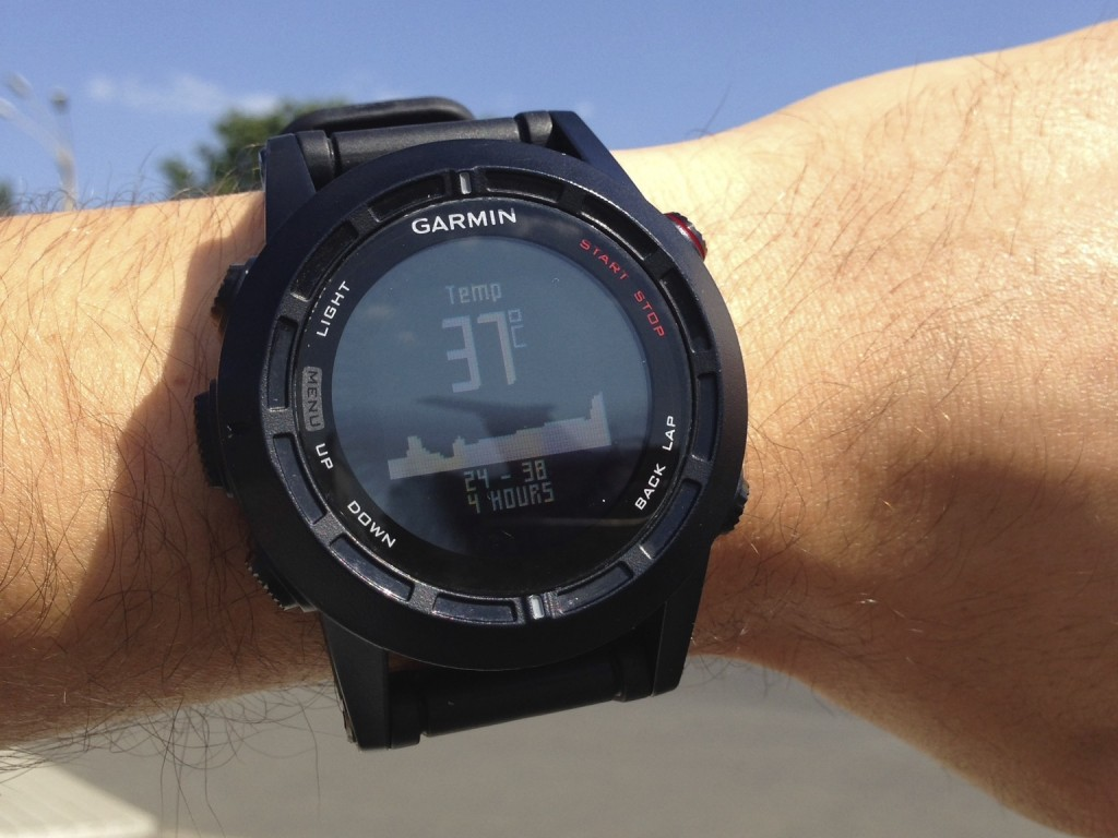 Garmin Fenix 2 thermometer
