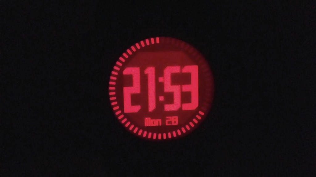 Garmin Fenix 2 backlight