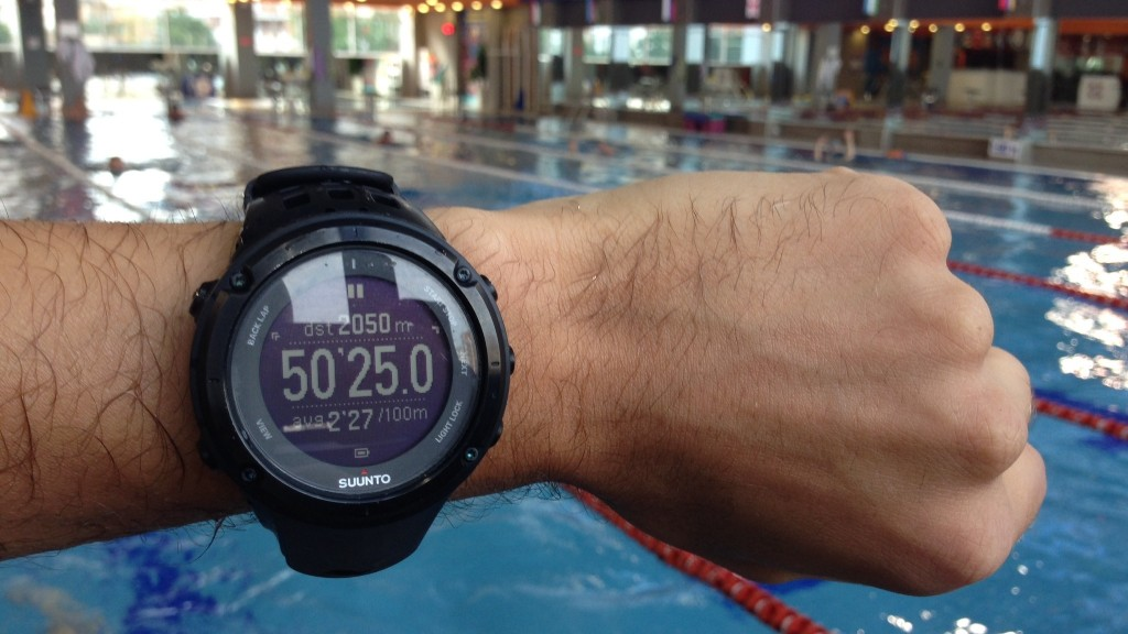 Suunto Ambit2 pool swim