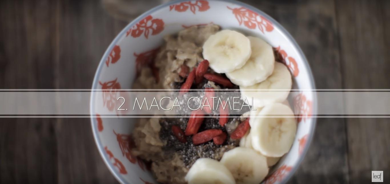 рецепт овсянки с порошком маки и ягодами годжи